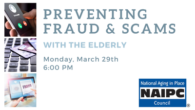 Preventing Fraud & Scams with the Elderly