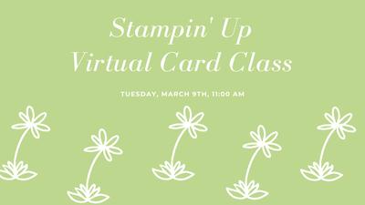 Stampin' Up Virtual Card Class