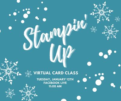 Stampin' Up Virtual Card Making Class