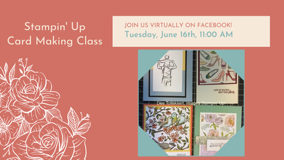 Virtual Stampin' Up Card Class